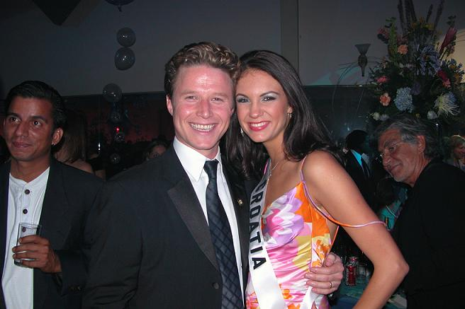 Ivana Delač i Billy Bush